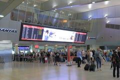 墨尔本机场 免版税库存图片