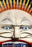 墨尔本的历史的月神公园的'Moon先生'面孔 免版税库存照片