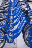 墨尔本自行车份额驻地 免版税库存照片
