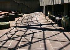墨尔本艺术中心庭院 免版税库存照片