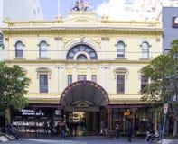 墨尔本,澳大利亚3月18日:皇家拱廊 免版税图库摄影