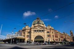 墨尔本, AUSTRALIA-11/04/18 :墨尔本市` s历史的buildin 免版税库存图片