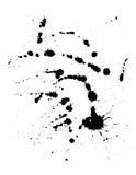 墨水splat 向量例证