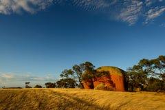 墨菲的干草堆-南澳大利亚 免版税库存照片