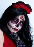 墨西哥人亡灵节的休闲 库存图片