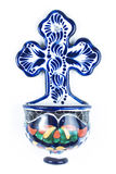 墨西哥人塔拉韦拉十字架 图库摄影