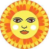墨西哥人太阳面对 库存图片