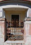 墨西哥人安置前门入口 库存照片