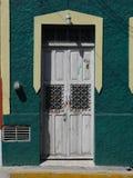 墨西哥人安置前门入口 免版税库存照片
