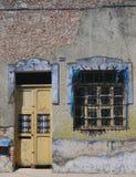 墨西哥人安置前门入口 免版税库存图片