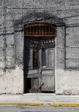 墨西哥人安置前门入口 库存图片