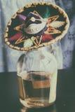 墨西哥人Mezcal 免版税库存图片