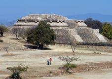 墨西哥全景废墟 图库摄影