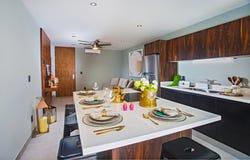 墨西哥公寓房室内设计  库存照片