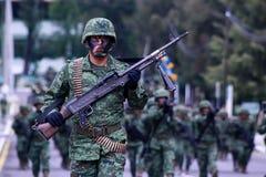 墨西哥军事 免版税库存图片