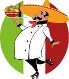 墨西哥厨师 免版税库存图片