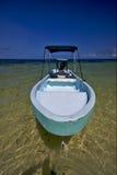 墨西哥和蓝色盐水湖kaan的西安 免版税库存图片