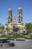 墨西哥哈利斯科州, Basilica de Zapopan 库存图片