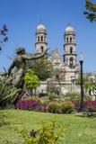 墨西哥哈利斯科州, Basilica de Zapopan 免版税库存图片