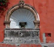 墨西哥喷泉 库存照片