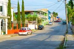 墨西哥场面街道 库存照片