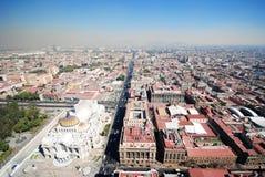 墨西哥城全景  免版税图库摄影