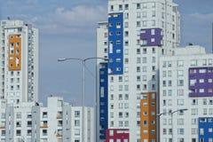 墨西哥城大厦 免版税图库摄影