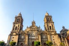 墨西哥城大教堂 免版税库存照片