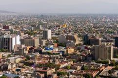 墨西哥城视图 免版税库存照片