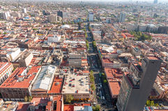 墨西哥城视图 库存照片
