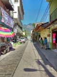 墨西哥城镇 库存照片
