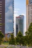 墨西哥城,圣菲现代大厦 免版税库存图片