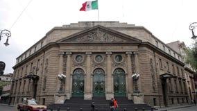墨西哥城,墨西哥6月2014年:全景,地方房间代理 股票录像