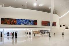 墨西哥城- 2016年11月1日:Soumaya博物馆内部  免版税库存图片