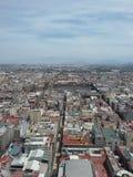 墨西哥城2的全景 图库摄影