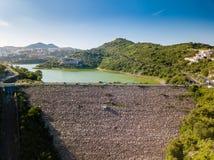 墨西哥城- Madin水坝- Presa Madin 图库摄影