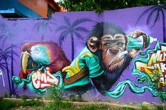 墨西哥壁画 免版税库存照片