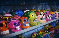 墨西哥头骨 免版税库存照片