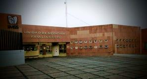 墨西哥家庭医疗团结 免版税库存图片
