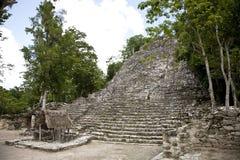 墨西哥寺庙 免版税库存图片