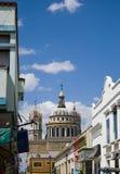 墨西哥小镇 免版税图库摄影