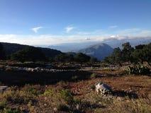 墨西哥山 免版税图库摄影