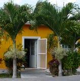 墨西哥房子尤加坦arcitecture 免版税库存照片