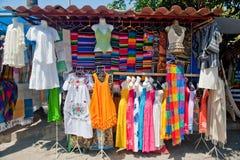 墨西哥摊贩 库存图片