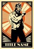 墨西哥摔跤手 免版税图库摄影