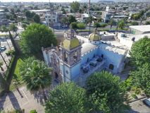 墨西哥教会3 免版税库存照片