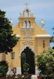 墨西哥教堂 免版税库存图片