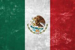 墨西哥旗子 免版税库存照片
