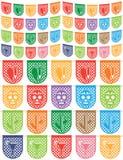 墨西哥旗布 向量例证