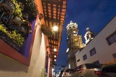 墨西哥样式房子在巴亚尔塔港 库存图片